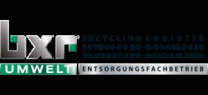 BXR Umwelt Logo Entsorgung Dienstleistungsunternehmen